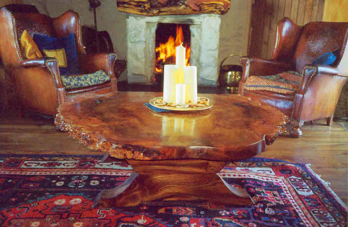 Natural Edge Coffee Tables at Flooders Gallery